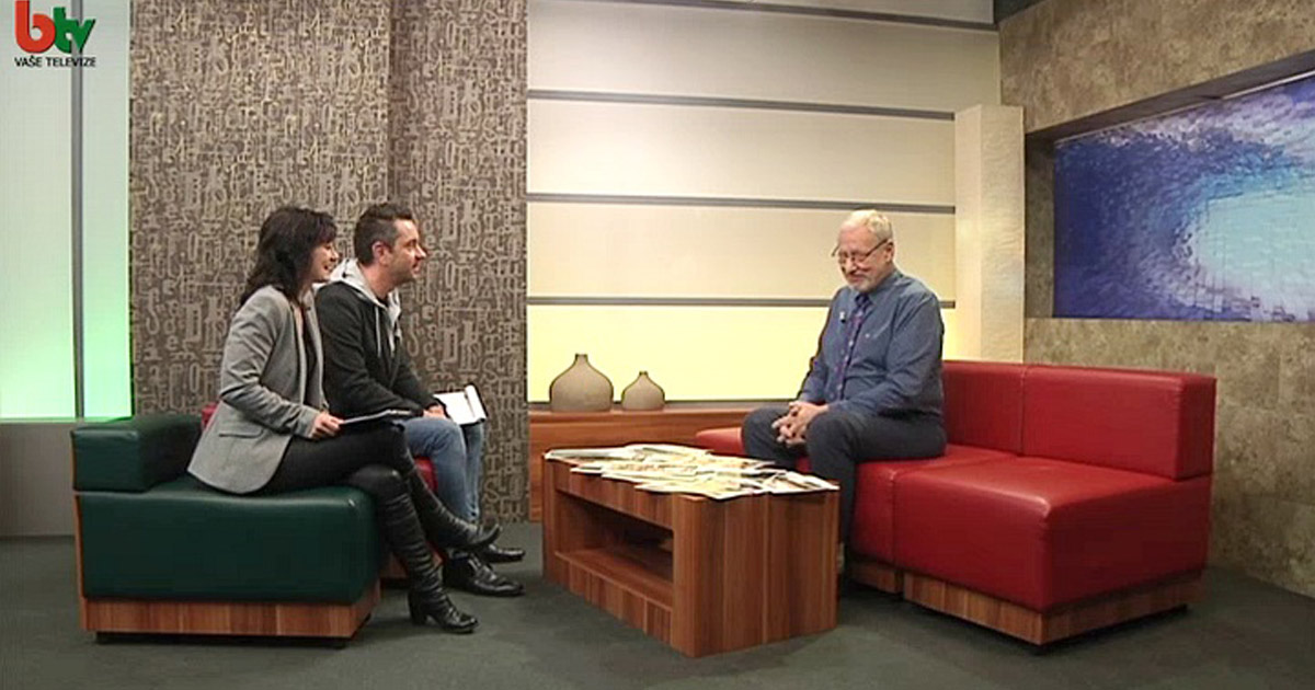 Vlna z Brna - Smysl života a cesta do Indie - B-TV 10. 3. 2016