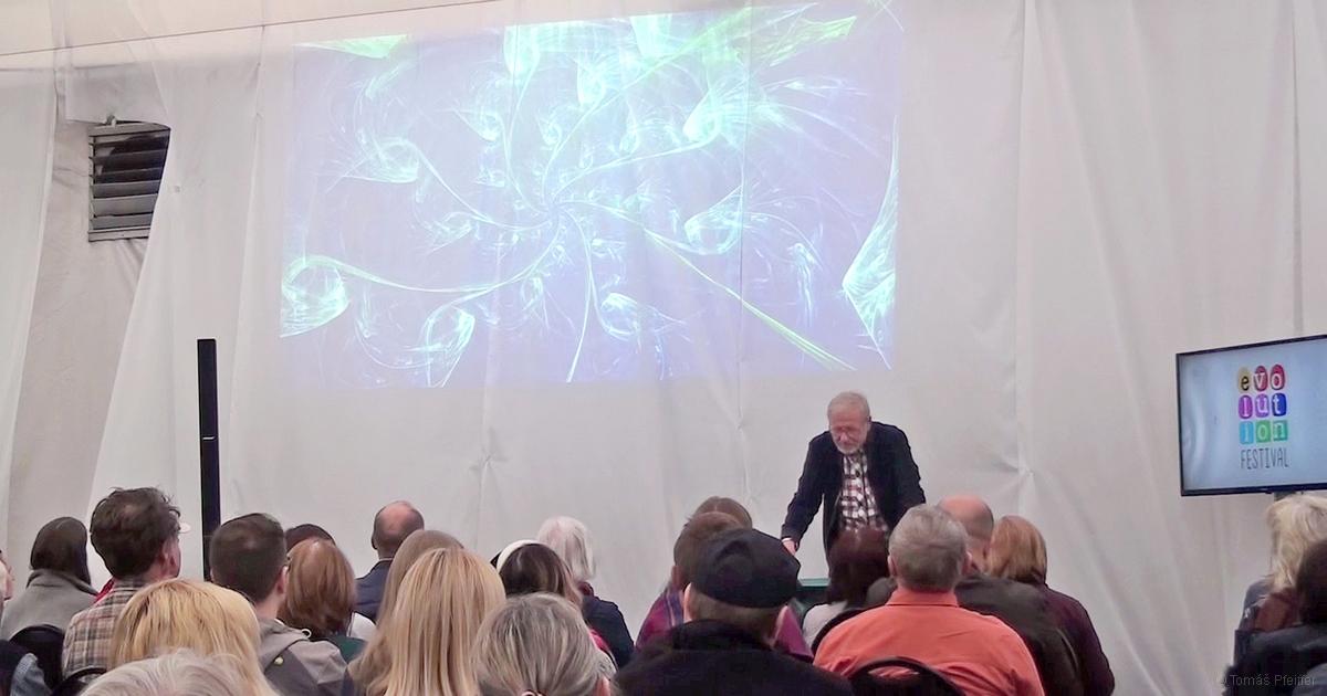 Přednáška Tomáše Pfeiffera v rámci Festivalu Evolution, 24. 3. 2019