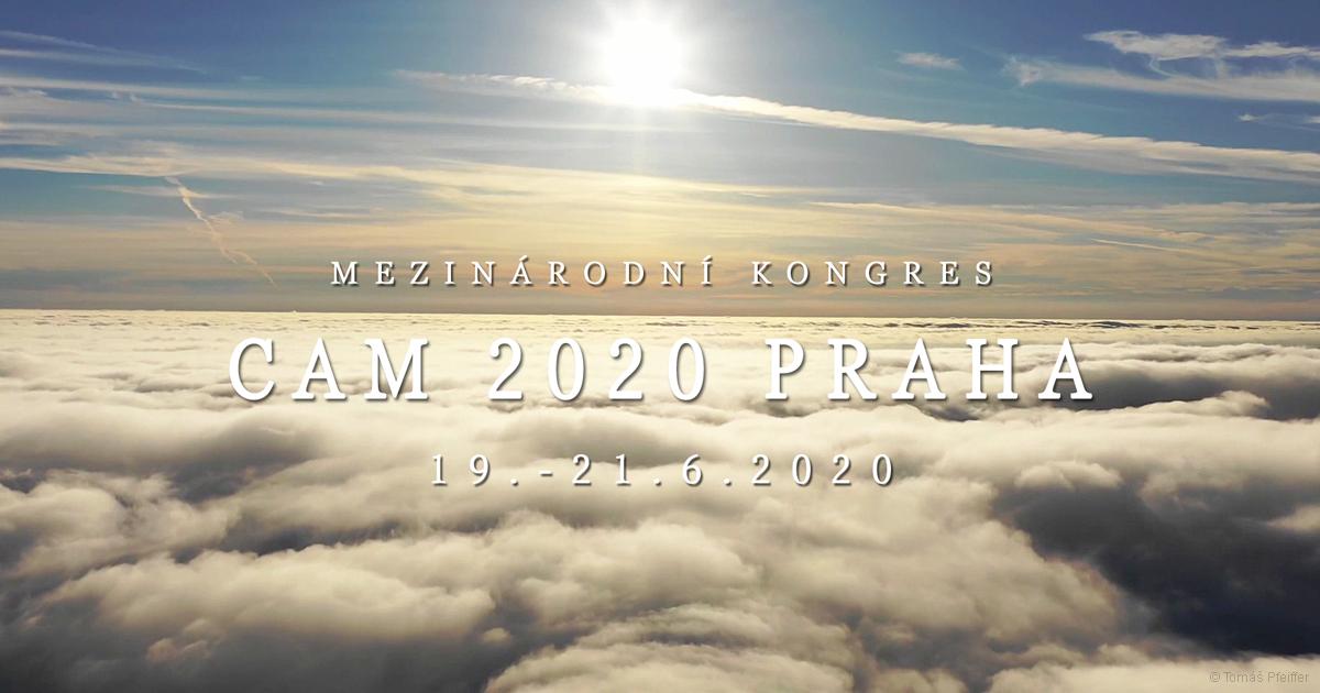 Mezinárodní kongres CAM 2020 PRAHA 19. - 21. 6. 2020