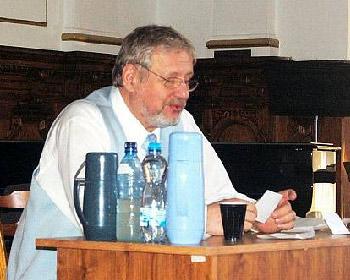 Biotronik Tomáš Pfeiffer předával energii