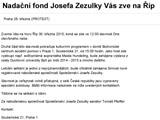 Nadační fond Josefa Zezulky Vás zve na Říp