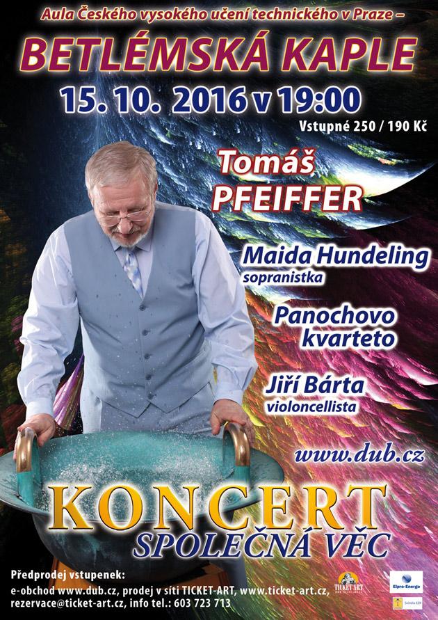 400. koncert Společná věc v Betlémské kapli
