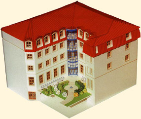 The original building model for the Biotronic Centre of Social Support
