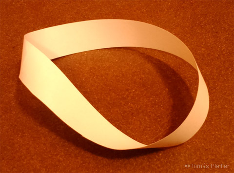 Figure 14 – Möbius strip in the shape of a circle