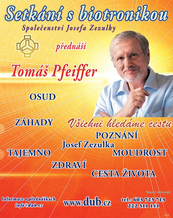 Tomáš Pfeiffer - Setkání s biotronikou / Praha -Sál JZ, Soukenická 1190/21, Praha