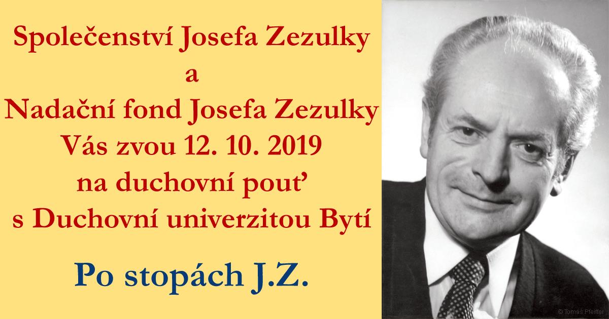 Duchovní pouť 12. 10. 2019 Po stopách J.Z.